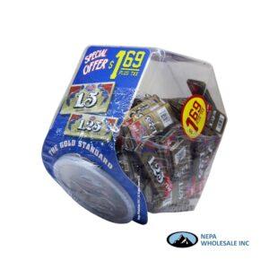 Job 1.25 100CT Plastic Container $1.69 Pre-Priced