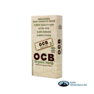 OCB Organic Single Wide 24 Packs