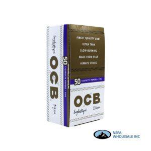 OCB Sophistique Cigarette Paper + Tips 24 Packs 1 1/4