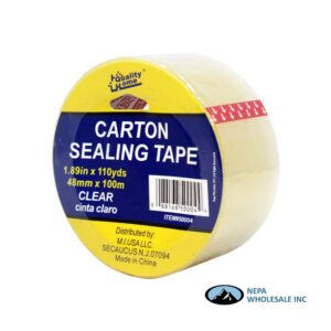 Carton Sealing Tape 1.89 in X 110 yds Clear