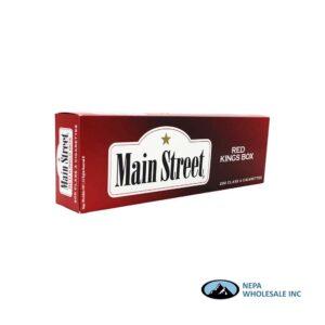 Main Street King Red