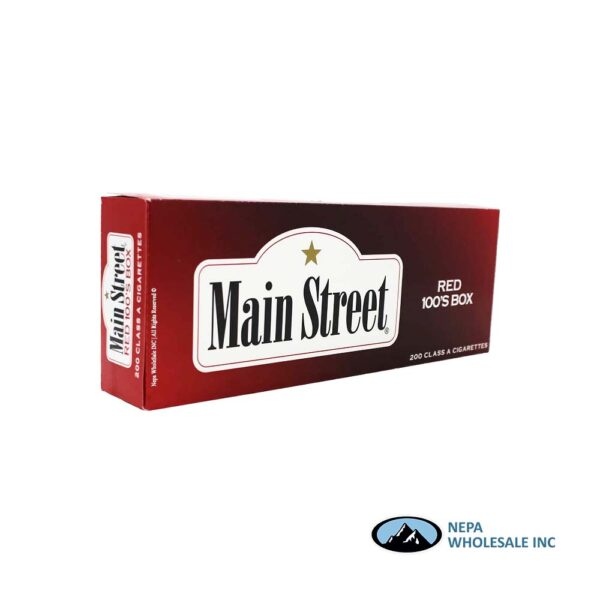 Main Street 100s Red
