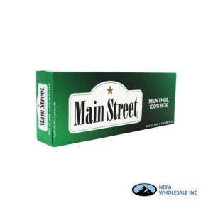Main Street 100s Menthol