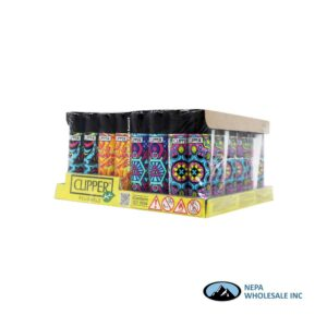 Clipper Lighter Psychedelic 3 48pcs Display