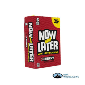 Now & Later 24-.93 Oz Cherry