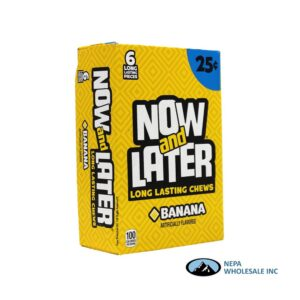 Now & Later 24-.93 Oz Banana