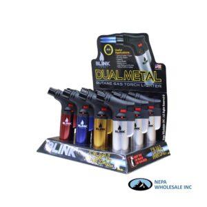 Blink Dual Metal Torch DM-01 12CT Dual Flame