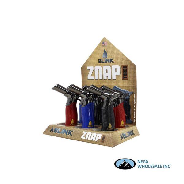Blink Znap Torch Lighter 6CT