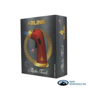 Blink Alpha Torch Lighter Red