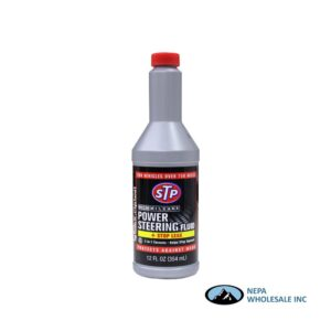 .STP Power Steering Fluid 6-12 Oz Stop Leak