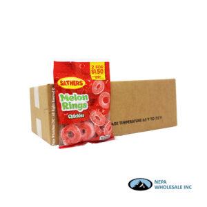 .Sathers 2 for $1.50 Gummallos Melon Rings