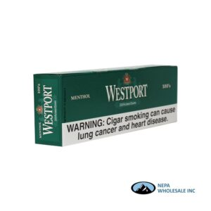 Westport 100's Menthol Filter Cigar