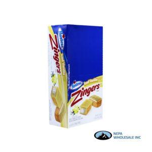 Hostess Zingers Iced Vanilla Cake 6-3.81oz