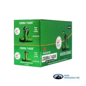 Cobra 74000 24CT Green
