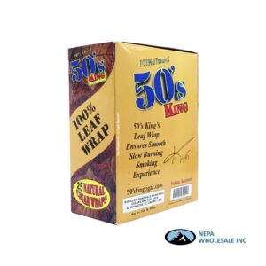 50s King Wrap 25ct Natural - 50 King