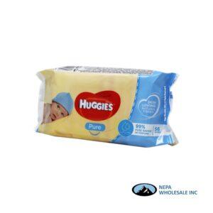 Huggies Wipes 56CT Pure