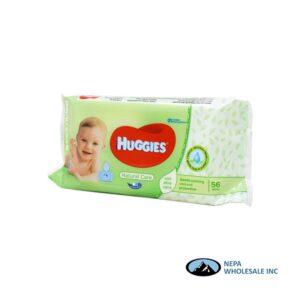 Huggies Wipes 56CT Natural Care