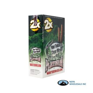 Double Platinum Cigar Wrap Watermelon 25 CT