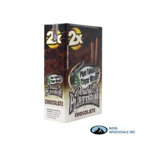 Double Platinum Cigar Wrap Chocolate 25 CT