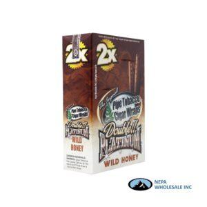 Double Platinum Cigar Wrap Wild Honey 25 CT