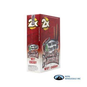 Double Platinum Cigar Wrap Wet Cherry 25 CT
