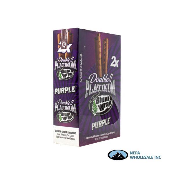 Double Platinum Cigar Wrap Purple 25 CT