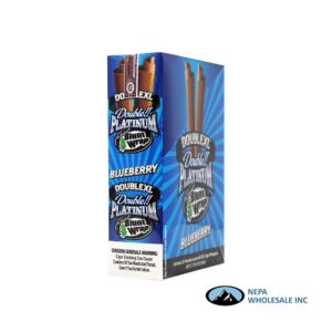 Double Platinum Cigar Wrap Blueberry 25 CT