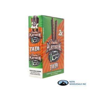 Double Platinum Cigar Wrap Tata 25 CT