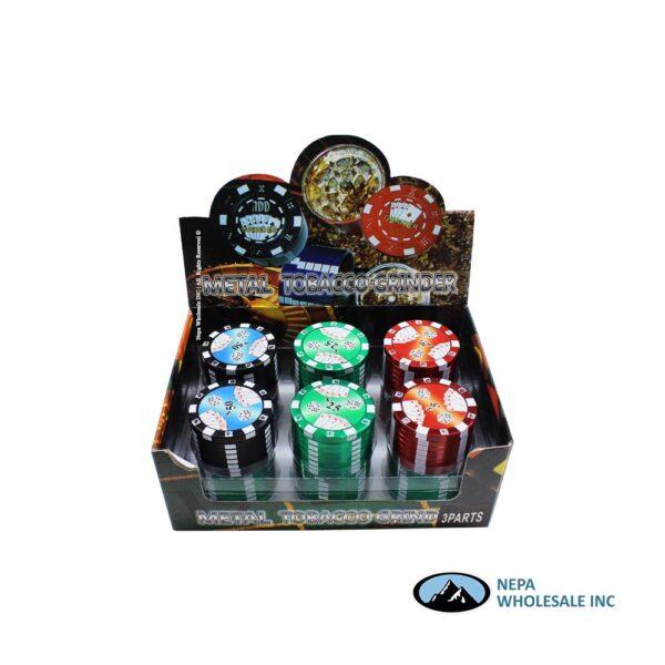 Grinder (GR014) 3 Parts Poker Chip 40mm
