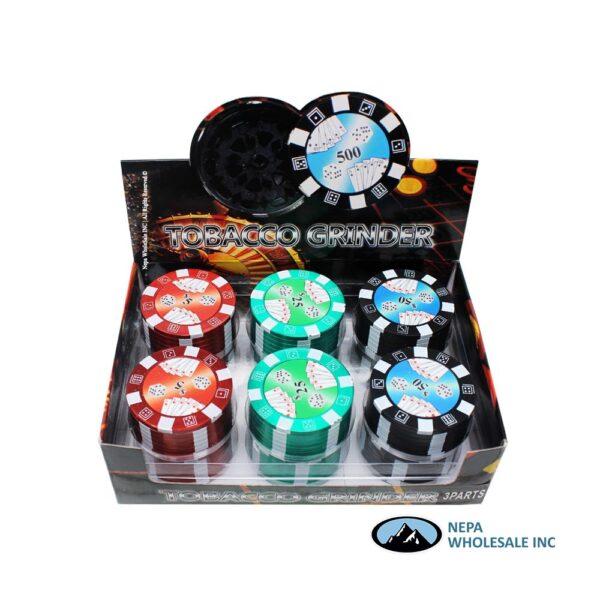 Grinder (GR014-B) Poker Chip