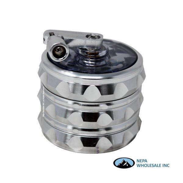 Grinder (GR012-63) 4 Parts Hand Crank Aluminum 63mm