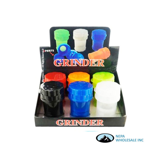 Plastic Grinder and Can ( Gr 151)