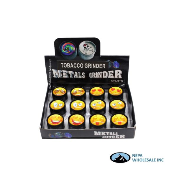 Grinder (GR154-30CC) 3 Parts Crystal Ball 30mm