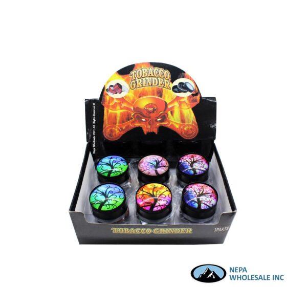 Grinder Crystal Ball Assorted Design 52mm (GR154-52)