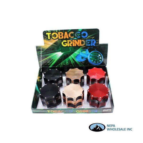 Grinder (GR182-60) 4 Parts Octagon Iron Ball 60mm