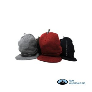 Woolen Cap Mixed Color 12 CT