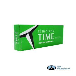 Timeless Time 100s Menthol Green