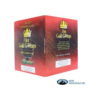 Hot Gold Wraps 12ct Whole