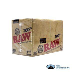 Raw Classic 300's 1 1/4 40 per Box