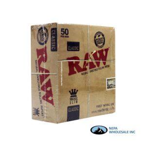 Raw Classic King Size Slim 50 per Box