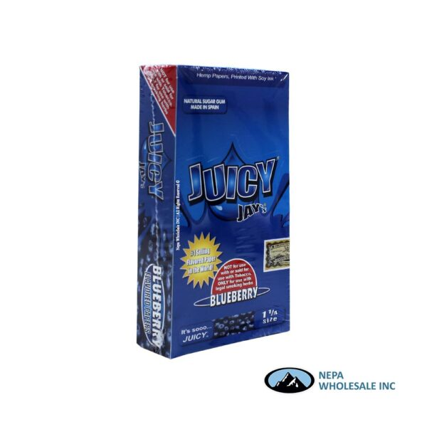 Juicy Jay's 1 1/4 Blueberry 24 CT