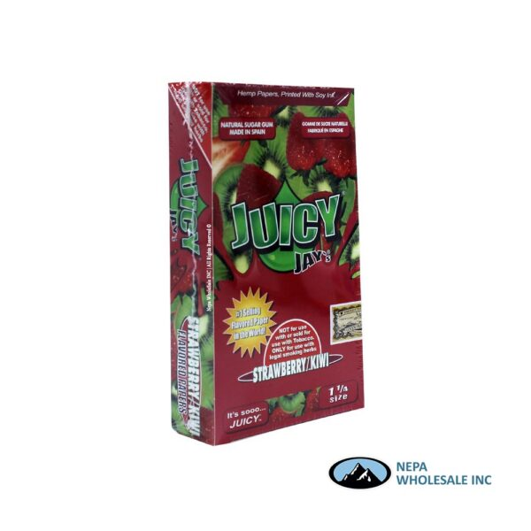 Juicy Jay's 1 1/4 Strawberry Kiwi 24 CT