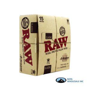 Raw Classic Artesano King Size Slim 15 per Box