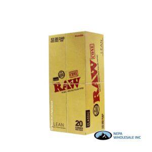 Raw Classic Cone Lean 12 Packs per Box