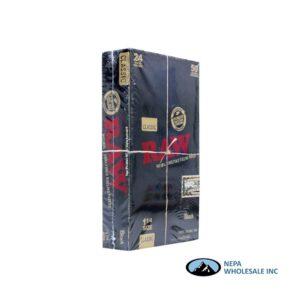 Raw Classic Black 1 1/4 24 per Box