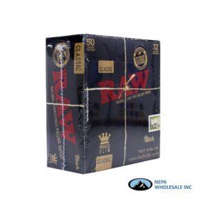 Raw Classic Black King Size Slim 50 per Box