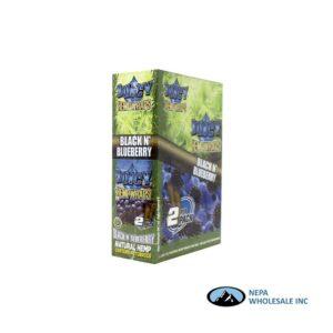 Juicy Hemp Wraps25-2PK Black N' Blueberry