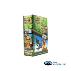 Juicy Hemp Wraps25-2PK Tropical Passion