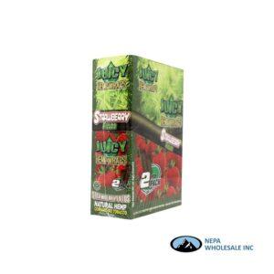 Juicy Hemp Wraps25-2PK Strawberry Fields