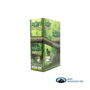 Juicy Hemp Wraps25-2PK Natural